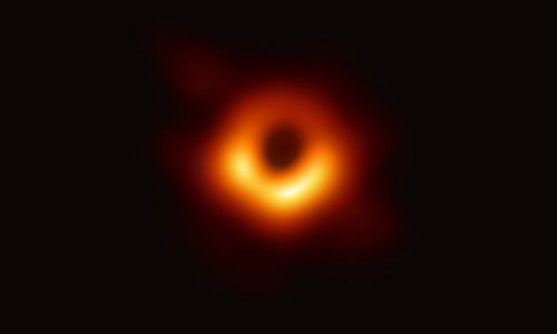 Image of the black hole
